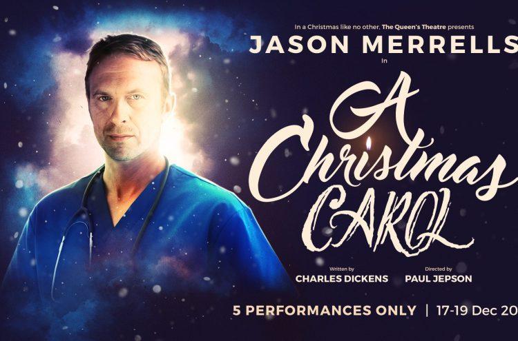 Jason Merrells stars in A Christmas Carol at Queen's Theatre