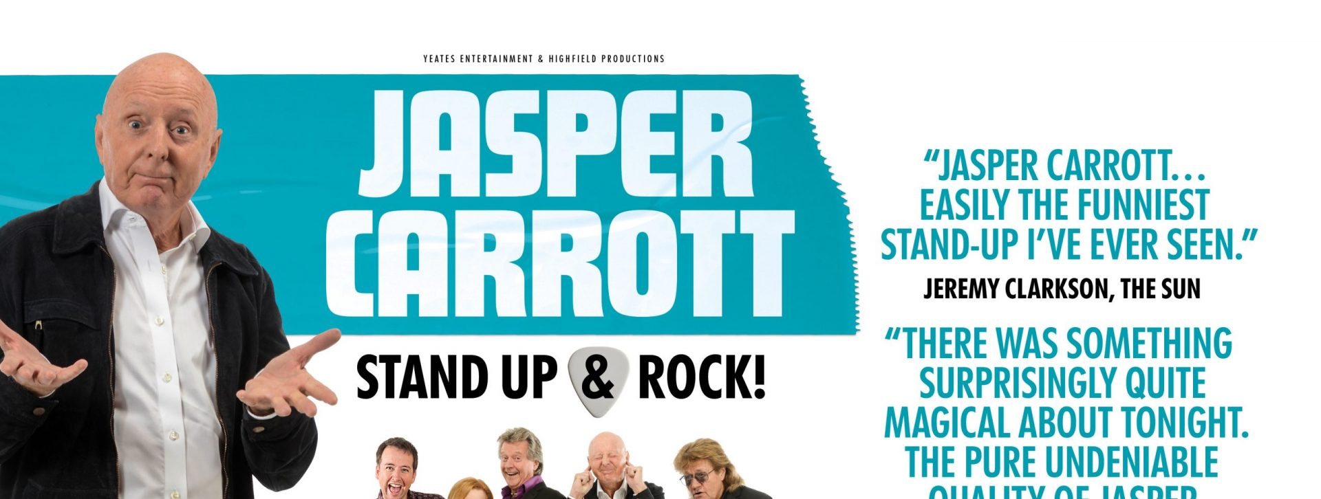 Jasper Carrott's Stand Up & Rock